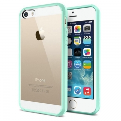 Чехол бампер SGP для iPhone 5 голубой
