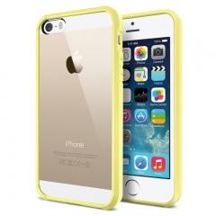 Чехол бампер SGP для iPhone 5 желтый