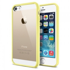 Чехол бампер SGP для iPhone 5S желтый