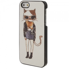 Чехол для iPhone 5 Fashion Cat