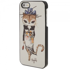Чехол для iPhone 5 Fashion Cat 2