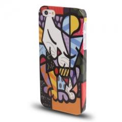 Чехол Кошка абстракция для iPhone 5