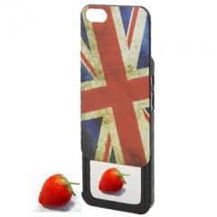 Чехол Британский флаг для iPhone 5 с зеркалом