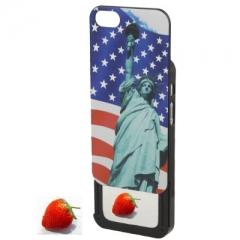 Чехол Америка для iPhone 5S с зеркалом