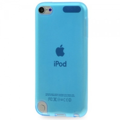 Чехол силиконовый для iPod Touch 5 голубой