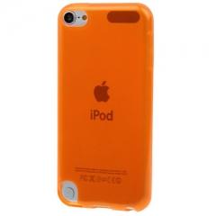Чехол силиконовый для iPod Touch 5 оранжевый