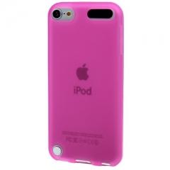 Чехол силиконовый для iPod Touch 5 розовый
