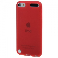 Чехол силиконовый для iPod Touch 5 красный