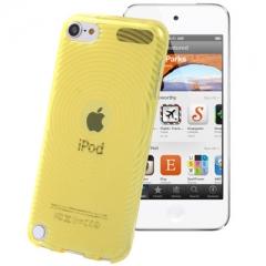 Чехол силиконовый для iPod Touch 5 желтый