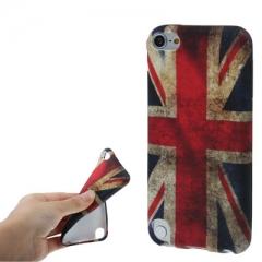 Чехол силиконовый Британский флаг для iPod Touch 5