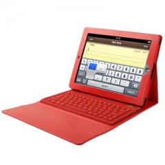 Чехол с клавиатурой для iPad 4 красный