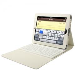 Чехол с клавиатурой для iPad 4 белый