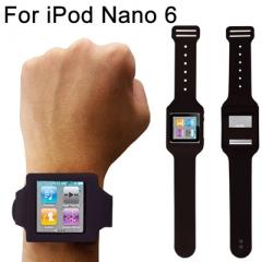 Чехол часы черный для iPod Nano 6