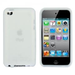 Чехол силиконовый для iPod Touch 4 белый