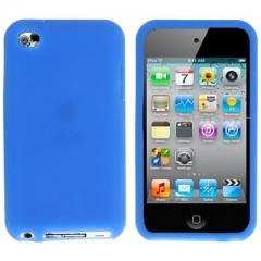 Чехол силиконовый для iPod Touch 4 синий