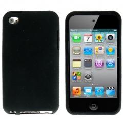 Чехол силиконовый для iPod Touch 4 черный