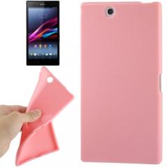 Чехол силиконовый для Sony Xperia Z Ultra розовый