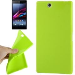 Чехол силиконовый для Sony Xperia Z Ultra салатовый