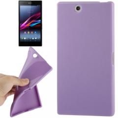 Чехол силиконовый для Sony Xperia Z Ultra сиреневый
