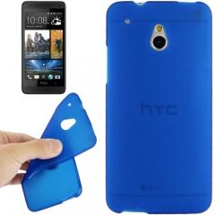 Силиконовый чехол для HTC One Mini синий