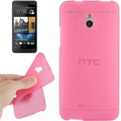 Силиконовый чехол для HTC One Mini розовый
