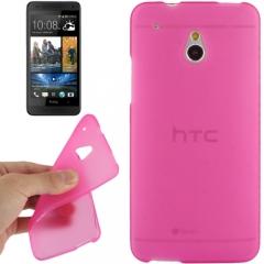 Силиконовый чехол для HTC One Mini малиновый