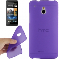 Силиконовый чехол для HTC One Mini фиолетовый