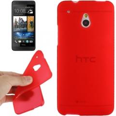 Силиконовый чехол для HTC One Mini красный