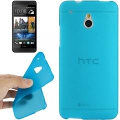 Силиконовый чехол для HTC One Mini голубой