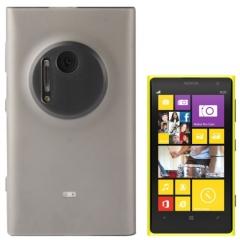 Чехол силиконовый для Nokia Lumia 1020 серый