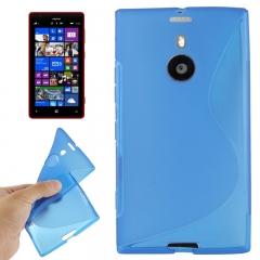 Чехол силиконовый для Nokia Lumia 1520 синий