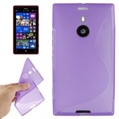 Чехол силиконовый для Nokia Lumia 1520 фиолетовый