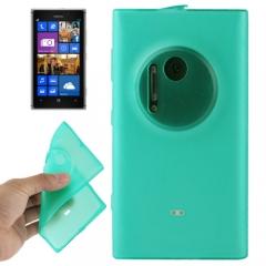 Чехол силиконовый для Nokia Lumia 1020 зеленый