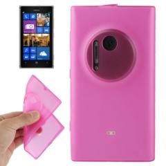 Чехол силиконовый для Nokia Lumia 1020 розовый