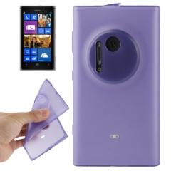 Чехол силиконовый для Nokia Lumia 1020 фиолетовый
