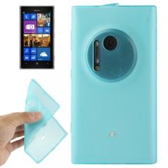 Чехол силиконовый для Nokia Lumia 1020 голубой