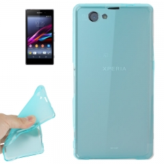 Чехол силиконовый для Sony Xperia Z1 mini голубой