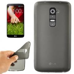Чехол силиконовый для LG G2 черный