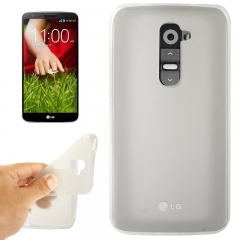Чехол силиконовый для LG G2 белый