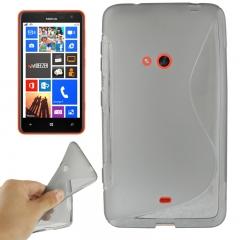 Чехол силиконовый для Nokia Lumia 625 черный