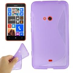 Чехол силиконовый для Nokia Lumia 625 фиолетовый