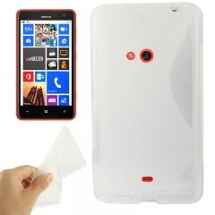 Чехол силиконовый для Nokia Lumia 625 прозрачный