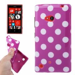 Чехол силиконовый для Nokia Lumia 720 фиолетовый