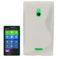 Чехол силиконовый для Nokia Lumia XL белый