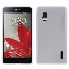 Чехол силиконовый для LG Optimus G прозрачный
