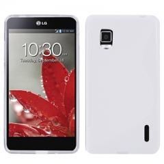 Чехол силиконовый для LG Optimus G белый