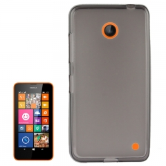 Чехол силиконовый для Nokia Lumia 630 черный