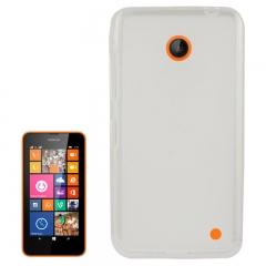 Чехол силиконовый для Nokia Lumia 630 прозрачный