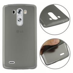 Чехол силиконовый для LG G3 серый