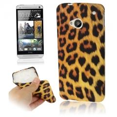 Чехол силиконовый Леопардовый для HTC One
